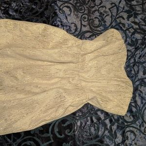 Gold party dress!!